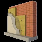 Теплоизоляционные фасадные плиты под штукатурку