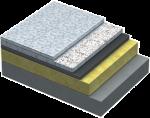Теплоизоляционные плиты, выдерживающие нагрузку (основания)